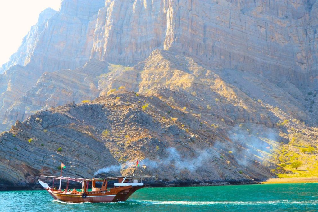 Full Day Dhow Cruise in musandam