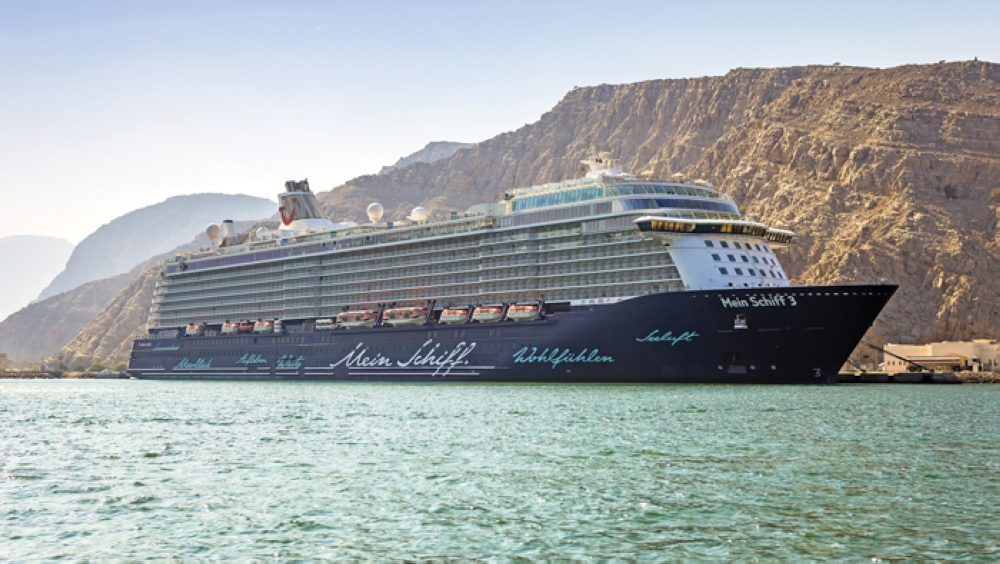 cruise ship arrived in khasab