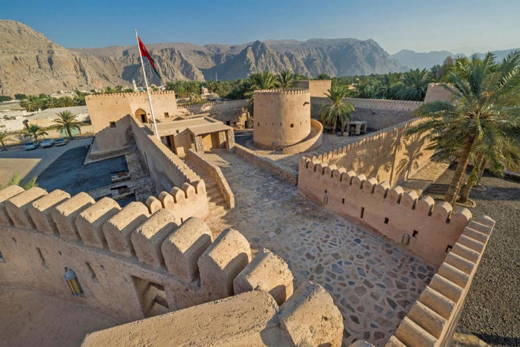 khasab castle for cruise ships
