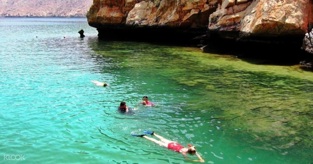 Musandam swimming and snorkeling